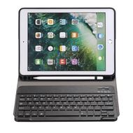 เคสคีย์บอร์ดบลูทู ธ สำหรับ Apple 2017 2018 Ipad Air 9.7 Pro 9.7 Air2 Air Keyboard Case Cover Funda Pencil Slot