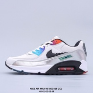 """Nike Air Max 90 """"Have A Good Game"""" Silver LOL video game pixel hooks retro cushion all-match casual sports jogging shoes"""