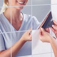 Mirror Mirror Sticker Glass Wallpaper Wall Quadrangle