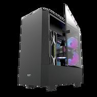 AIGO 電腦機殼 DLV 22 黑 電腦機殼 PC機殼 電競機殼 電腦機箱【迪特軍】