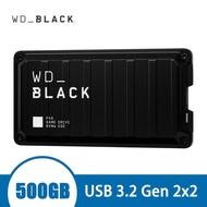 【WD 威騰】BLACK黑標 P50 Game Drive SSD 500GB 電競外接式硬碟(WDBA3P0080HBK-SESN)