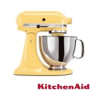 KitchenAid 桌上型攪拌機(抬頭型)5Q(4.8L)奶油黃
