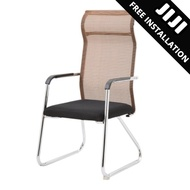 JIJI Manager Office Chair Stationary (MESH) (Free Installation) - (Home Office Chair) Office chairs /Study chair/Gaming chair/Ergonomic/ Free 12 Months Warranty (SG)