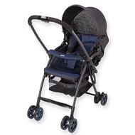 *babygo*Aprica Karoon超輕量雙向平躺型嬰幼兒手推車(寧靜藍 NV#2008482)