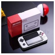 MIYOO MAX游戲掌機IPS屏掌上懷舊老式開源游戲機PSP街機