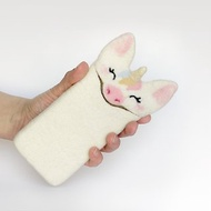 Unicorn, felt case for Samsung Galaxy S8, for Samsung Galaxy S8+, felted Unicorn