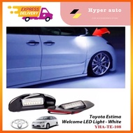 Toyota Estima ACR50 ACR30 Welcome LED Light side mirror white light accessories
