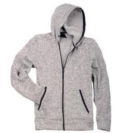 全新進口特價 ZeroXposur SPORT KNIT 針織 內裡刷毛 厚實保暖 連帽外套 灰 深灰