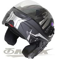 THH T797A+ 新一代駭客全罩半罩 可掀式雙鏡片 可樂帽