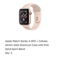 Apple Watch Series 4 GPS+Cellular(二種款式)【二手】