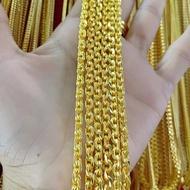 สร้อยคอ สร้อยคอทองลายคชกิต ขนาด 1 - 3 บาท งานทองไมครอน ทองชุบ ทองโคลนนิ่ง ทองปลอม