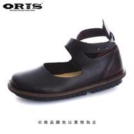 【oris 帆船鞋】ORIS綁帶素色蟑螂鞋-深咖啡/女款-692 03(真皮/手工/休閒鞋)