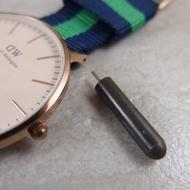【錶帶城】『DW專用』手錶DIY拆錶帶或錶扣彈簧棒耳針小工具同類型如SEIKO鮪魚罐頭或舊款勞力士錶耳洞外露款均適用