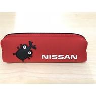 Nissan 絕版 原廠 獨角仙 筆袋