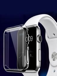 Gadgetsสมาร์ทโปร่งใสหน้าจออุปกรณ์ป้องกันนาฬิกาเคสสำหรับApple Smart Watch 1/2/5 X Case Applewatchอุปกรณ์เสริม