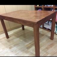 SCANTEAK 詩肯柚木 書桌 餐桌(當書桌用 有貼保護膠膜 運自付)最後機會 5000
