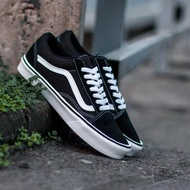 Fashion VANS_OLD SKOOL SKATEBOARD SHOES black