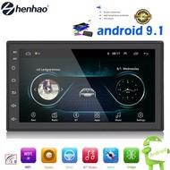 【พร้อมส่งจากBangkok】2din Car Stereo รถวิทยุ 7/9/10.1 นิ้วระบบ Android อัตโนมัติสเตอริโอ 2.5D หน้าจอ Capacitive บลูทู ธ WIFI GPS Quad Core