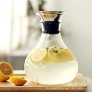 丹麥solo玻璃涼水壺耐熱冷水壺大容量 果汁壺 紮壺玻璃水壺創意 概念3C