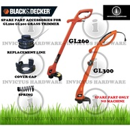 BLACK AND DECKER GL300 GL260 GRASS TRIMMER SPARE PART REPLACEMENT ACCESSORIES CAP COVER REFILL NYLON LINE SPRING RS300