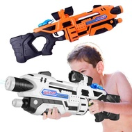 Water-sprinkling Festival Drifting Toy Gun Children Plastic Pull-out Water Gun Summer Beach Pressure Water Gun Toys