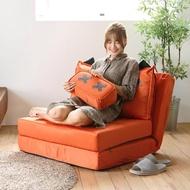 【完美主義】日式可愛多功能沙發床/坐墊/靠背坐椅/靠枕/床墊(四色可選)