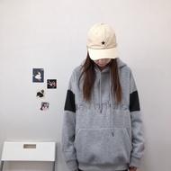 【Spicy】New Balance 刺繡 加絨到暖 拼色 情侶款 連帽衛衣 New Balance 帽t