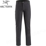 Arcteryx 始祖鳥 Creston AR 軟殼褲長褲/機能長褲/登山長褲 男款 24035 碳黑
