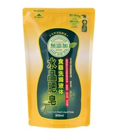 南僑 水晶肥皂食器洗滌液體 補充包800ml