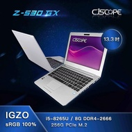 【喜傑獅】筆電 13.3吋 IGZO面板 256G SSD CJSCOPE Z-530 GX