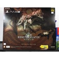 全新未拆可議PS4 PRO魔物獵人同捆機組全新(面交)