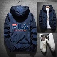現貨 FILA 飛行外套 薄款夾克 防風防雨防曬 防風外套 空軍外套