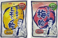日本 鹽昆布部長 檸檬糖/梅子糖 50g