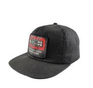 K-Products  USA Vintage Trucker Cap Full Cap Patch Logo Original Authenticated Vintage 1980