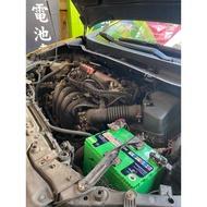 ☼ 台中電池達人 ► EXIDE 黑豹電池 75D23L SF 超音速 TOYOTA Wish 技師安裝檢測更換