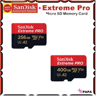 SanDisk Extreme Pro A2 Micro SD Memory Card TF SDXC 256GB / 400GB (Max.170MB/S)