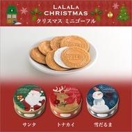 """日本@ """"聖誕限定"""" 神戶風月堂 法蘭酥鐵盒"""