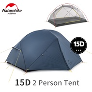 Naturehike Campingเต็นท์Mongar 15D 2 คนUltralight 2020 ใหม่ไนลอนคู่กันน้ำกลางแจ้งแบบพกพาเต็นท์ปีนเขา