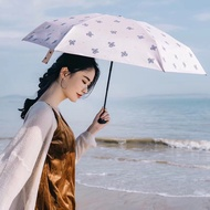 BANANA X KIU 雨傘 小黑傘 陽傘