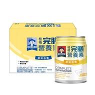 【QUAKER 桂格】完膳營養素含纖配方-原味少甜250ml×24入