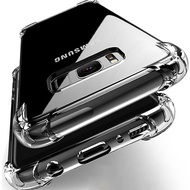 Shockproof Clear Phone Case For Samsung Galaxy Note 20 10 9 8 Ultra Lite S20 S10 S9 S8 Ultra Plus S7 Edge A10s A20s A30s A50s A50 A10 A20 A30 A70 A01 A11 A51 A71 A21s J2 Pro J4 J6 J8 Plus A6 A7 2018 Soft TPU Phone Back Cover