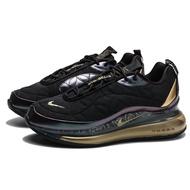 NIKE AIR MAX720-818 NYC 黑金 格紋 銀鉤 氣墊 慢跑鞋 男 (布魯克林) CU3013-070