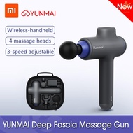 yins✪Xiaomi YUNMAI Massage Gun Deep Tissue Percussion Muscle Massager for Pain Relief Handheld Elect