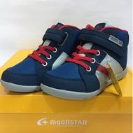 《日本Moonstar》秋冬新款TSUKIHOSHI護踝系列─中童段(紅/深藍)