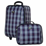 ร้านแนะนำRomar Polo กระเป๋าเดินทาง 20/14 นิ้ว เซ็ทคู่ Code 373-5 Scott (Blue) กระเป๋าเสริมเดินทางสไตล์เกาหลี