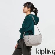【KIPLING】溫柔沉穩灰手提側背包-ART MINI