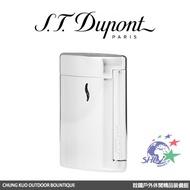 S.T. Dupont 法國都彭頂級打火機 - Minijet 防風噴射打火機 / 亮銀色 / 10502 【詮國】