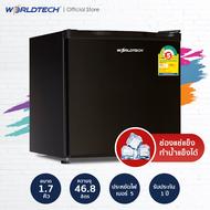 Worldtech ตู้เย็นมินิบาร์ 1.7 คิว  รุ่น WT-MB48 ตู้เย็นขนาดเล็ก ตู้แช่ Mini Bar 46 ลิตร ตู้เย็น 1 ประตู ตู้เย็นทำน้ำแข็งได้ ตู้เย็นราคาถูกๆ ตู้เย็นประหยัดไฟเบอร์ 5 รับประกัน 1 ปี