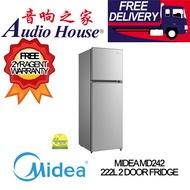 MIDEA MD242 222L 2 DOOR FRIDGE