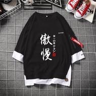 七宗罪衣服七大罪周邊 七原罪小說cos傲慢 時尚飄帶潮T 動漫t恤